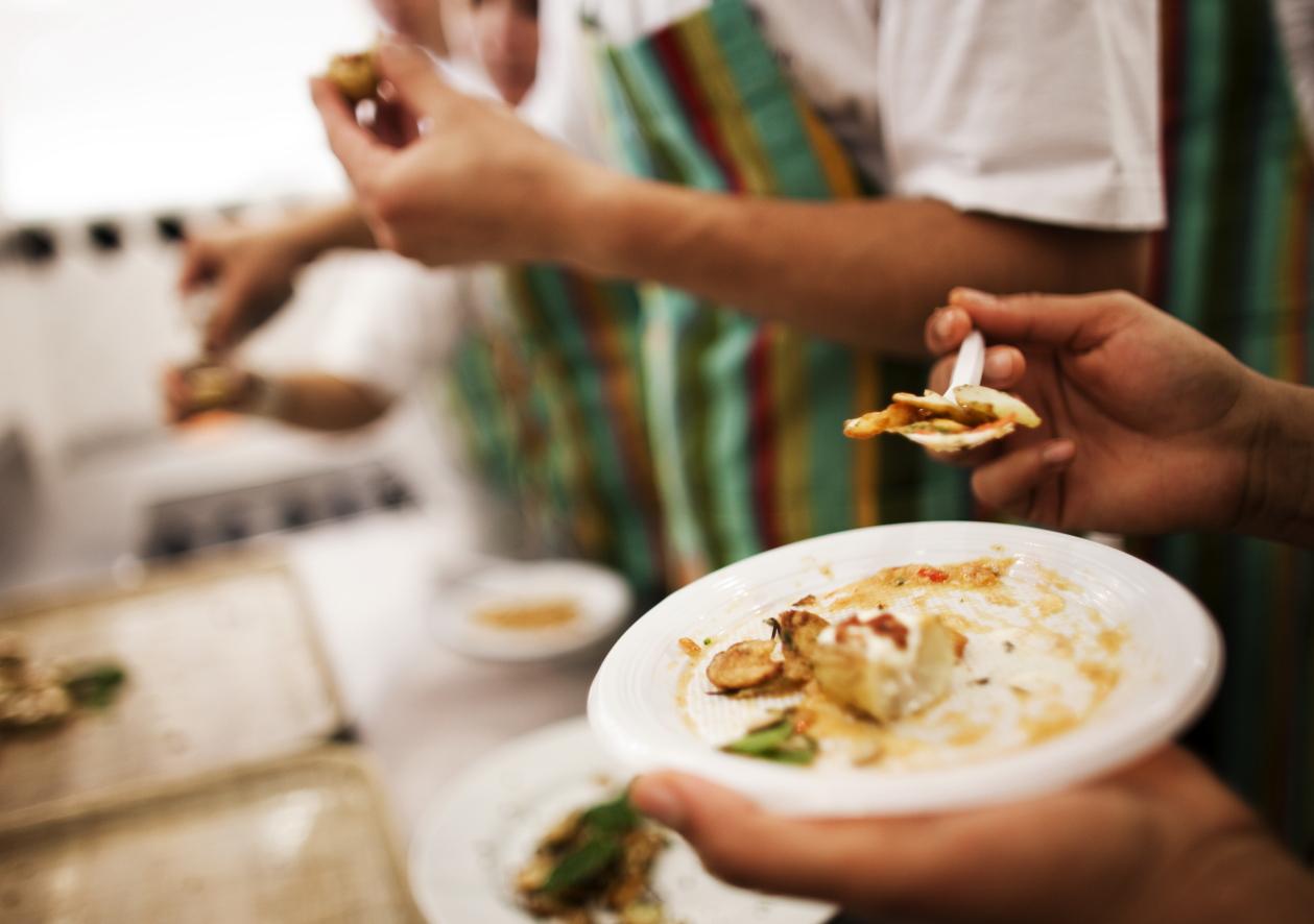 Alunos da Gastromotiva (foto Renato Stockler/Na Lata)
